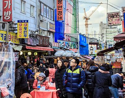 Markets in South Korea