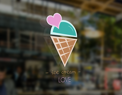 Ice cream love LOGO