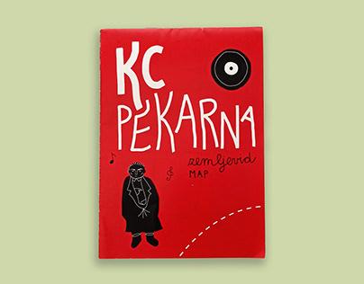 KC Pekarna - illustrated map