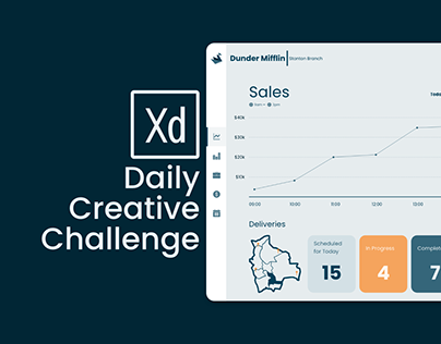 Adobe XD Design Challenge Day 5