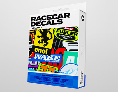RACECAR DECALS