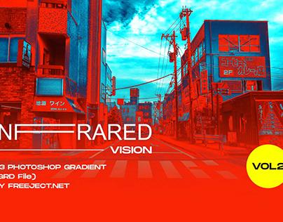 Free Infrared Vision VOL 02 Photoshop Gradient