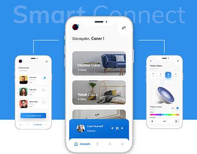 Smart House Mobile App UI Design