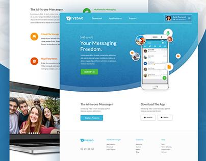 Vidao Messenger UI/UX