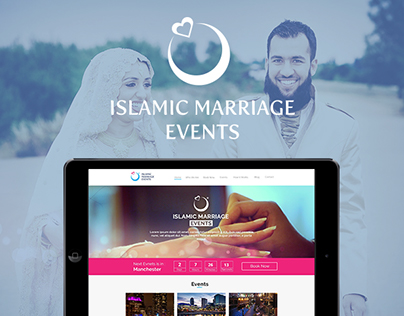 Islamic Marriage Events | Branding & Web Development