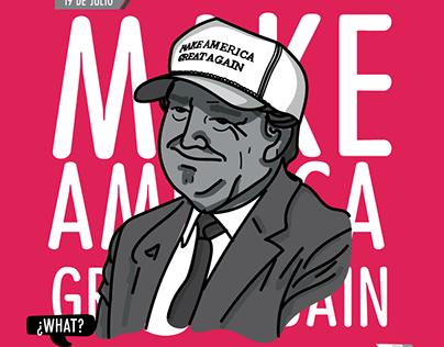 Trump VS Clinton: La narrativa visual.