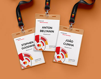 Branding of Mastercard conference in Barcelona