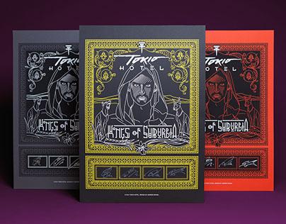 Tokio Hotel, 'Kings Of Suburbia' – Screen Prints