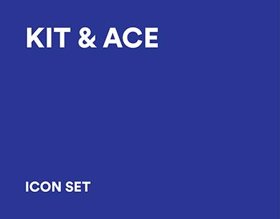 Kit & Ace Icon Set