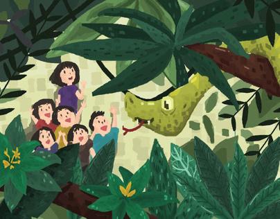 "Children book story ""Suri"""
