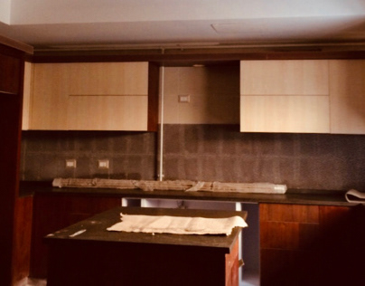 Wooden works : living kitchen