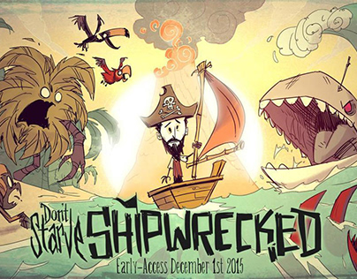 Don't Starve Shipwrecked: Concept arts and Animation