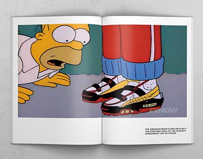Off-White x Simpsons