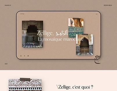 Zellige, La mosaïque marocaine   Hamza N'bouhammou