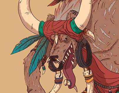 Hyena Tribe Shaman