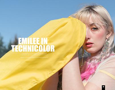 Emilee In Technicolor