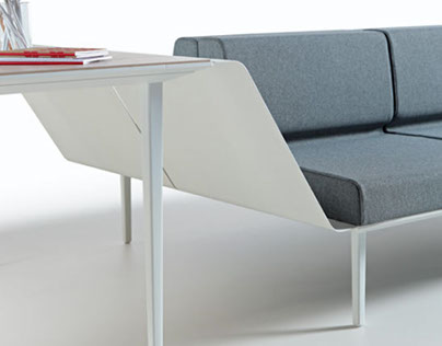 Longo Soft seating by Actiu. 2015