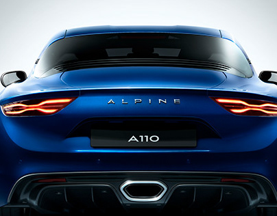 Alpine A110 Personal Project - Full CGI