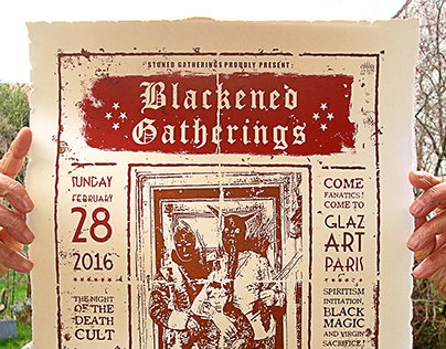 Screen printing for the Backened Gatherings