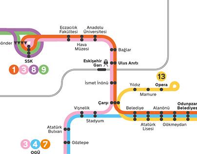 Tram System of Eskișehir