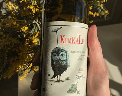 ''Kumkale'' Wine Label