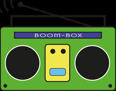 Boom Box Logo