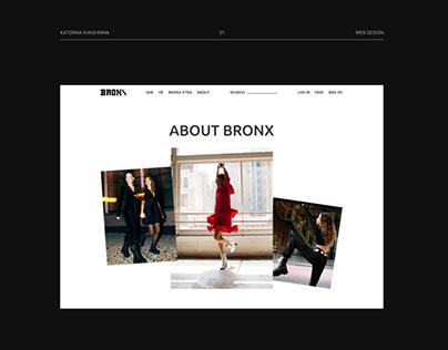 BRONX - redesign concept '21