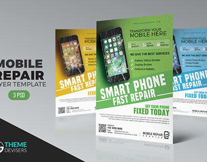 Mobile Repair Flyer