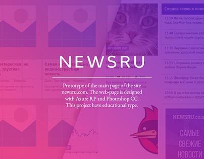 NewsRU.com Prototype