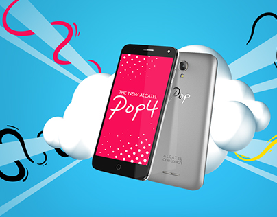 Alcatel Pop4 - Advertising campaign