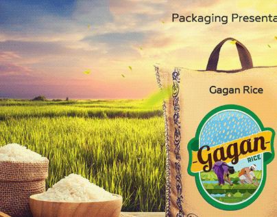 Gagan Rice | Packaging Design | Digital Verto