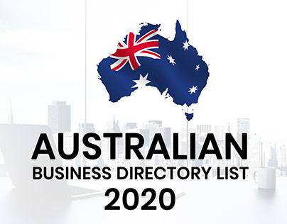 Australian Business Directory List 2020