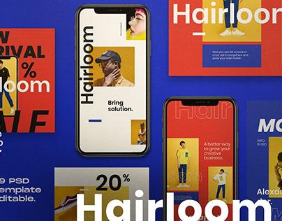 HAIRLOOM-Social Media Template + SG