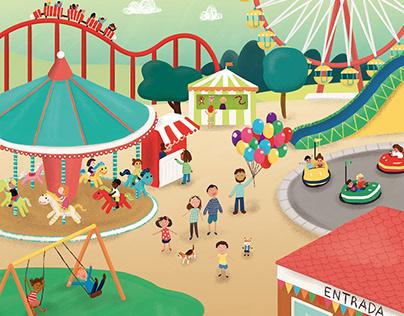 El parc d'atraccions