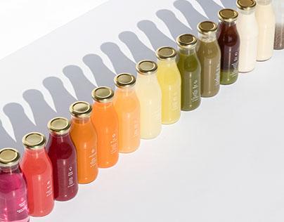 Greenhouse Juice Co. Brand Identity