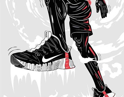 Nike / App Illustrations