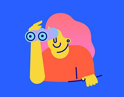 Momo App 9.0 Version Illustration