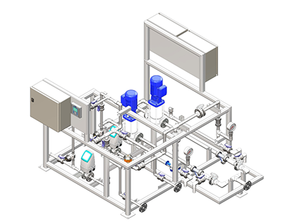 3D Model of Processing Plant Layout & Equipment Design
