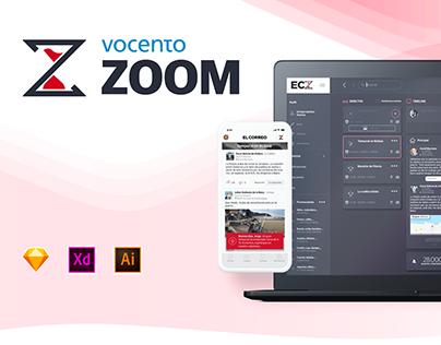 ZOOM: Breaking News App in Real Time | UX/UI