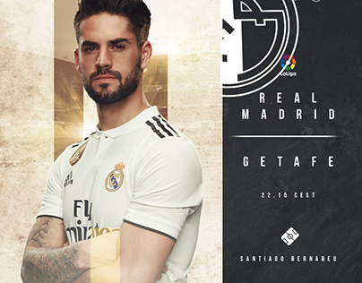 'Real Madrid vs Getafe' - Matchcard