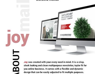 Joy - Christmas Bundle Email + Builder Access