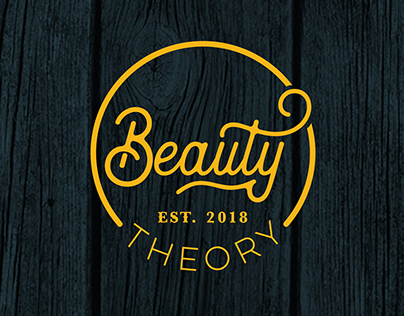 Beauty Theory Logo and Print Material