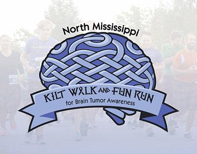 North Mississippi Kilt Walk and Fun Run Logo