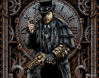 Ben Bugsy Luciano -T shirt illustration