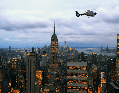 New York Helicopter Parallax