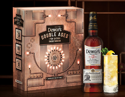 Dewar's Limited Edition Gift Pack