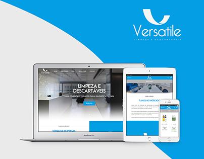 Loja Virtual - Cartão de Visitas | Versatile Empresas