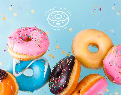 Web Design - Donut Worry