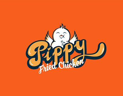 Pippy Fried Chicken Resaurant Logo