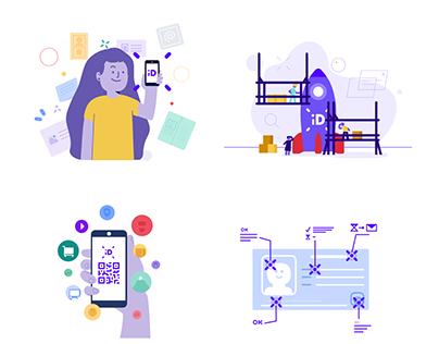 MeuID - Illustrations